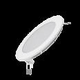 Встраиваемый светильник Gauss ультратонкий круглый IP20 9W, 145х22,d130, 3000K 610лм 1/20
