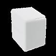 Заглушка торцевая для одиночного С-образного профиля 41х41 ммилидвойного С-образного профиля 41х21 мм, белая RAL9010