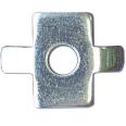 Шайба четырехлепестковая для соед. провол. лотка (в соединении с винтом M6x20) HDZ