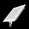 Встраиваемый светильник Gauss ультратонкий квадратный IP20 9W,145х145х22, d130х130, 4000K 660лм