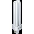 Компактная люминесцентная лампа (КЛЛ) прямолинейная 2U 18Вт G24q-2 нейтральная холодно-белая 4000К Navigator