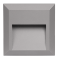 Светильник накладной c опал. рассеив-м cветодиод. (LED) 16x2Вт 100-240В IP65 серый 4000К для архитект. подсветки Jazzway