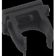 Крепеж-клипса черная d16мм (10шт.) Plast EKF PROxima