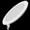 Встраиваемый светильник Gauss ультратонкий круглый IP20 18W,225х22,d210, 3000K 1200лм 1/20