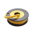 Маркер кабельный трубчатый в рулоне сечение 0,75-3 кв.мм (0)