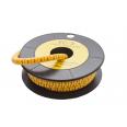 Маркер кабельный трубчатый в рулоне сечение 0,75-3 кв.мм (2)