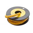 Маркер кабельный трубчатый в рулоне сечение 0,75-3 кв.мм (5)