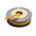 Маркер кабельный трубчатый в рулоне сечение 0,75-3 кв.мм (6)