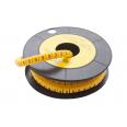 Маркер кабельный трубчатый в рулоне сечение 2,6-4,2 кв.мм (3)