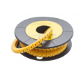 Маркер кабельный трубчатый в рулоне сечение 2,6-4,2 кв.мм (4)