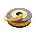 Маркер кабельный трубчатый в рулоне сечение 2,6-4,2 кв.мм (8)