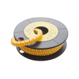 Маркер кабельный трубчатый в рулоне сечение 3,5-8,0 кв.мм (1)