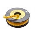 Маркер кабельный трубчатый в рулоне сечение 3,5-8,0 кв.мм (9)
