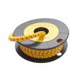 Маркер кабельный трубчатый в рулоне сечение 3,5-8,0 кв.мм (A)