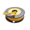 Маркер кабельный трубчатый в рулоне сечение 3,5-8,0 кв.мм (C)