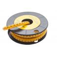 Маркер кабельный трубчатый в рулоне сечение 3,5-8,0 кв.мм (N)