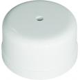 Коробка распределительная пластиковая D78мм, высота 43мм, IP20, цвет -белый, УСАДЬБА
