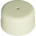 Коробка распределительная пластиковая D78мм, высота 43мм, IP20, цвет - слоновая кость, УСАДЬБА