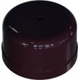 Коробка распределительная пластиковая D78мм, высота 43мм, IP20, цвет - коричневый, УСАДЬБА