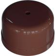 Коробка распределительная пластиковая D78мм, высота 43мм, IP20, цвет - какао, УСАДЬБА