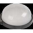 НПП1301 Светильник черный/круг 60Вт IP54 ИЭК