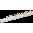Шина соединительная типа FORK (вилка) 1Р 100А (дл.1 м) ИЭК