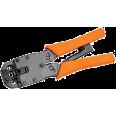 ITK Инструмент обжим для RJ-45,12,11 с храп. мех верт. обжим