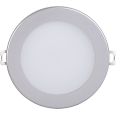 Светильник ДВО 1603 серебро круг LED 7Вт 3000 IP20