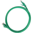 ITK Коммутационный шнур (патч-корд), кат.5Е UTP, 5м, зеленый