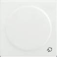 НР-3-1-ББ Накладка розетка с з/к с кр. BOLERO белый IEK