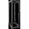 ITK 19` двухрамная стойка, 24U, 600x800 мм, чёрная