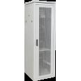 ITK Шкаф сетевой 19` LINEA N 18U 600х600 мм перфорированная передняя дверь серый