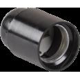 Пкб27-04-К01 Патрон подвесной карболитовый, Е27, черный (50 шт), стикер на изделии, IEK