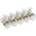 Зажим винтовой концевой изолированный КЗВИ 10 мм2 (5x1) IEK