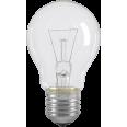 Лампа накаливания A55 шар прозр. 75Вт E27 IEK