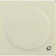 НР-3-1-БК Накладка розетка с з/к с кр. BOLERO кремовый IEK