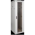ITK Шкаф сетевой 19` LINEA N 18U 600х600 мм стеклянная передняя дверь серый