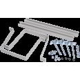 Комплект крепления металлокорпуса к столбу скобой