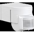 Датчик движения ДД 012 белый, макс. нагрузка 1100Вт, угол обзора 180град., дальность 12м, IP44, ИЭК