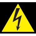 Символ молния 25х25х25мм ИЭК