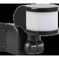 Датчик движения ДД 018В черный, макс. нагрузка 1100Вт, угол обзора 270град, дальность 12м, IP44, ИЭК