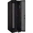 ITK Шкаф серверный 19`, 33U, 800х1000 мм, передняя двухстворчатая перф. дверь, задняя перф., черный