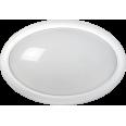 Светильник светодиодный ДПО 3020 8Вт 4500K IP54 овал пластик белый IEK