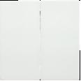 HB-2-0-ББ Накладка 2 клав. BOLERO белый IEK