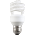 Лампа энергосберегающая спираль КЭЛ-S Е14 13Вт 2700К Т3 (ИЭК)