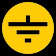 Символ заземления 30х30мм ИЭК (96)