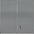 HB-2-1-БА Накладка 2 клав. с индик. BOLERO антрацит IEK