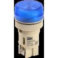 ENR-22(С) Сигнальная лампа для крепления на панели d-22 синяя с лампой накаливания 240V