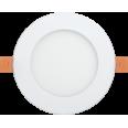 Светильник ДВО 1601 белый круг LED 7Вт 3000 IP20 IEK