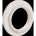 Кольцо к патрону, пластик, Е14, белый, индивидуальный пакет, IEK